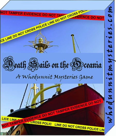 World War II Ship Murder Mystery Party Live Role Playing Team Building