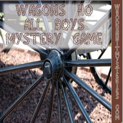 Choose Your Own Ending All-boy Western team building mystery game