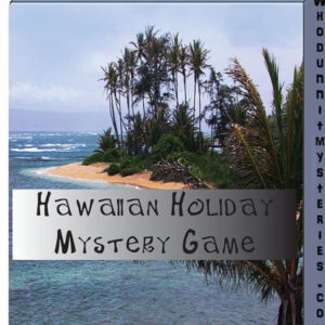 Tropical Hawaiian Murdery Mystery Group Game