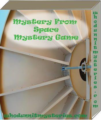Science Fiction Sci-Fi Murder Mystery Party Game