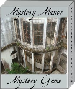 Haunted House Mystery Role Playing Game